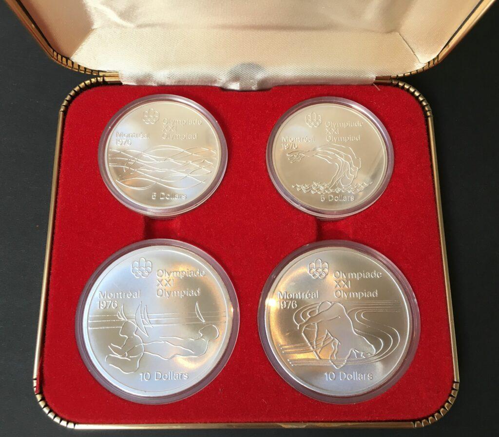 Olympische Spelen munt, zilver